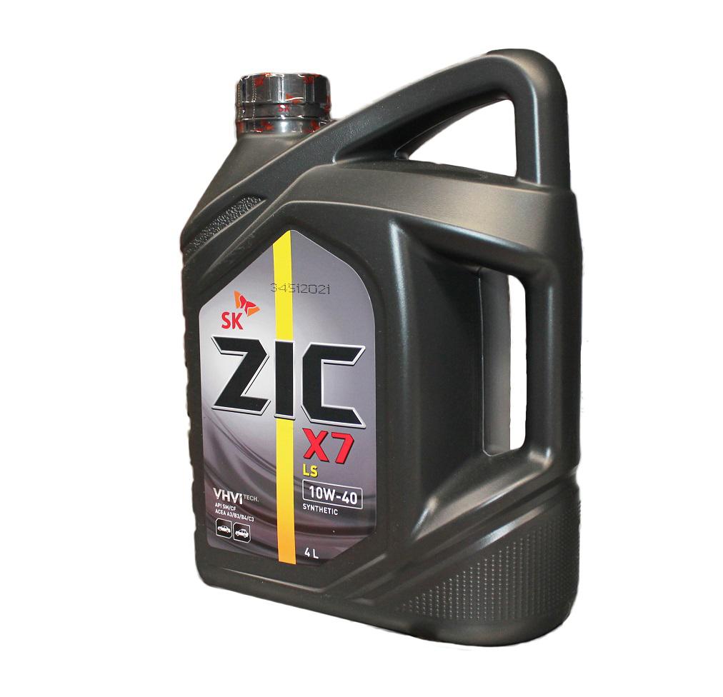 полусинетика ZIC X7 10W-40
