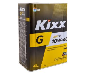 Полусинтетика 10W-40 Kixx G1