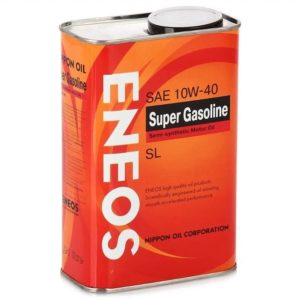 Полусинтетика 10W-40 ENEOS Super Gasoline SL
