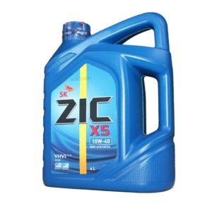Полусинтетика ZIC X5 10W-40