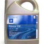 Синтетика General Motors Dexos2 Longlife 5W30