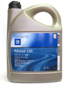 Синтетическое масло General Motors Dexos2 Longlife 5W30