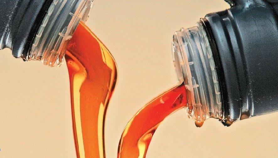 Смешивание моторного масла