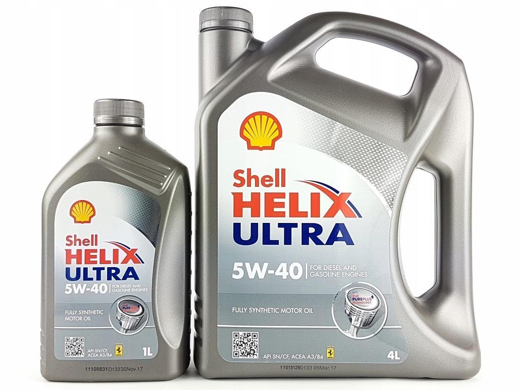 Форма выпуска масла Шелл Хеликс 5В40
