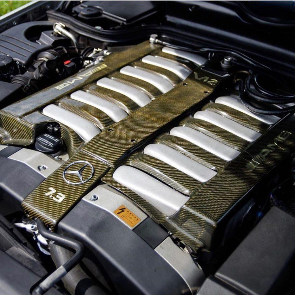 Двигатель Mercedes V12 7.3 л