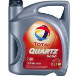 Масло 15W40 Total Quartz 5000