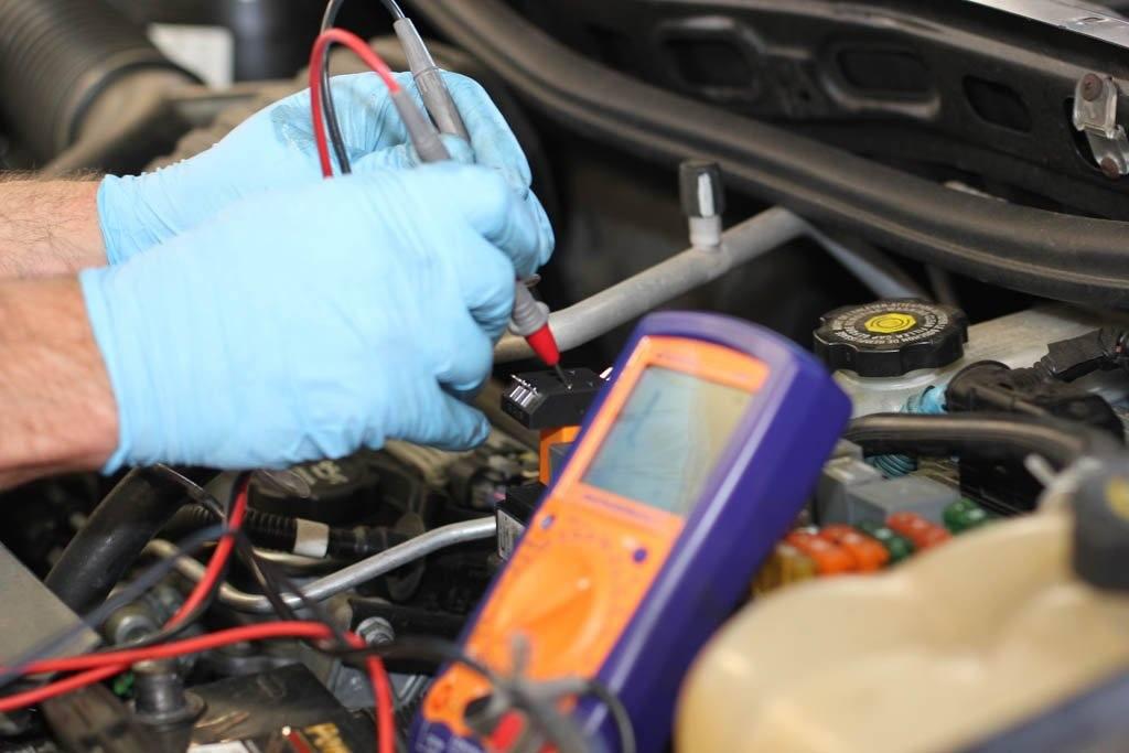 Диагностика проводки двигателя