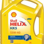 Моторное масло 15W40 Shell Helix HX5