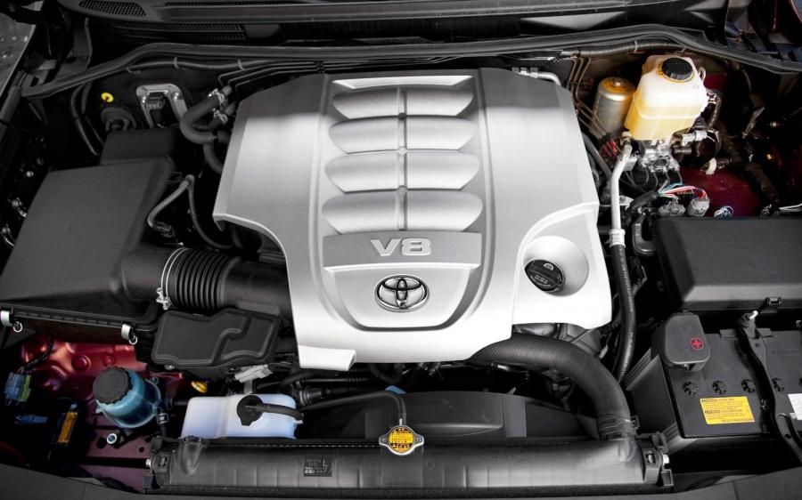 Двигатель V8 Тойота